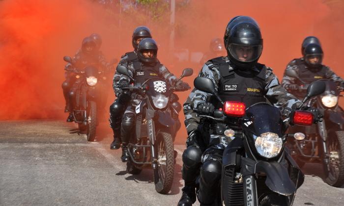 Policiais do GIRO em deslocamento.JPG