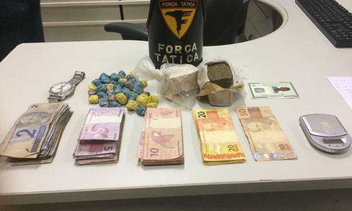 Dinheiro e drogas apreendidos pela PM em Palmas.jpeg
