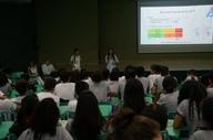 HGP promove Semana do AVC e leva orientação a escola da Capital
