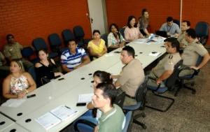 A reunião ocorreu na Secretaria de Estado do Planejamento e Orçamento, gestora do projeto, com os representantes das comissões técnicas dos órgãos integrantes - Elcio Dias / Governo do Tocantins