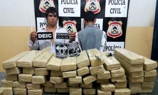 Polícia Civil apreende 53 kg de maconha em Gurupi