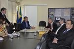 Durante o encontro, o Superintendente de Desenvolvimento Econômico, Vilmar Carneiro, e o Diretor de Atração de Investimentos, Paulo Mendonça, apresentaram ao grupo os dados socioeconômicos do Estado