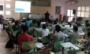 Técnicos do Naturatins participaram em Gurupi, da V Semaflor - Semana Acadêmica de Engenharia Florestal