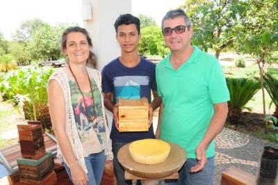 Rogério Lopes e Cristian Rocha se conheceram através do projeto do Instituto Espaço Ambiental executado em Taquaruçu