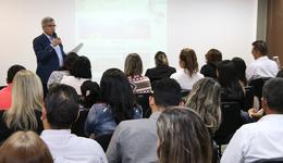 Secretário Luiz Antonio da Rocha abre o workshop do lançamento do Mapa Estratégico