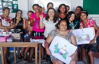 50 pessoas foram capacitadas em cinco diferentes cursos oferecidos pela Casa do Caminho Raquel Murça, em Paraíso