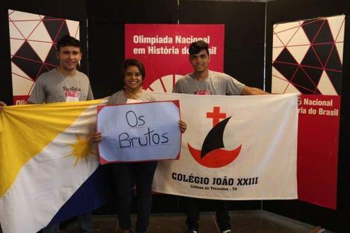 Professora Aletícia Rocha leciona História no Colégio João XXIII, em Colinas do Tocantins.