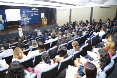 Profissionais de educação participaram de reunião de trabalho no auditório do Palácio Araguaia