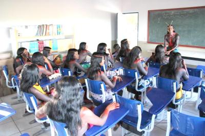 Com as novas estruturas, os estudantes indígenas passam a ter aulas de cultura religiosa indígena e saberes indígenas_400.jpg