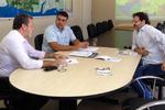 A visita teve como objetivo a busca de informações para projeto de instalação de uma usina de etanol à base de milho no Tocantins