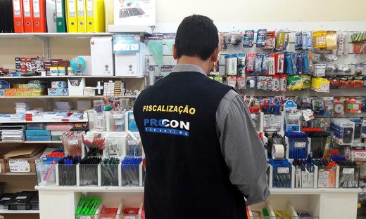 A consulta foi feita nas principais papelarias de Palmas e encontrou uma variação de preços de até 381,82% entre um estabelecimento e outro