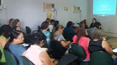 Diretores das escolas de oito municípios se reuniram na regional de Guaraí