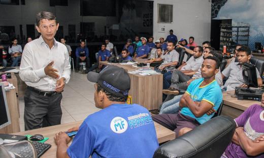 45 funcionários participaram da primeira palestra do Sine