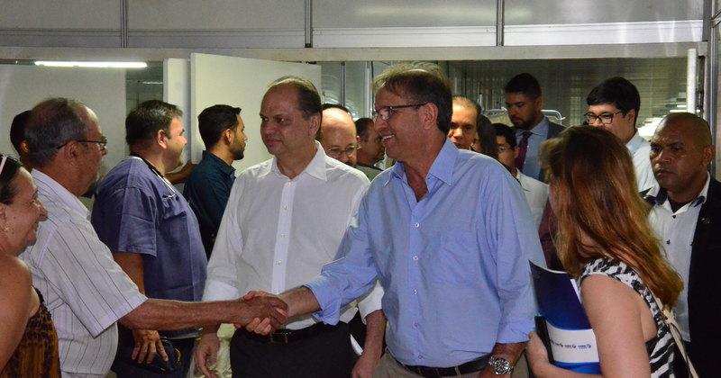 Governador, ministro e secretário de Saúde visitaram o HGP
