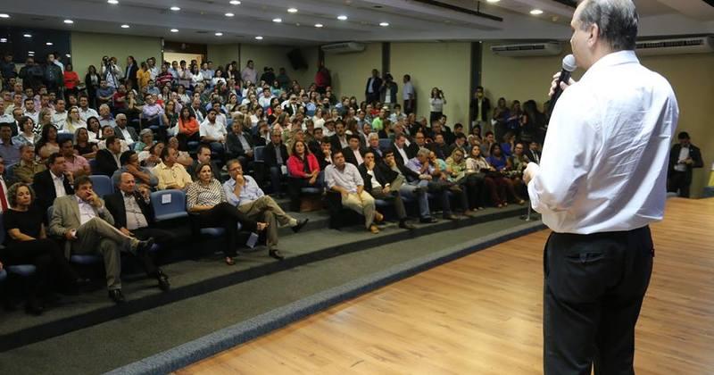 Ministro fala a gestores do Tocantins