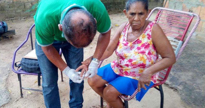 Maria de Jesus Borges fez teste rápido em visita de técnicos do Estado e municipais em Araguati_800x420.jpg