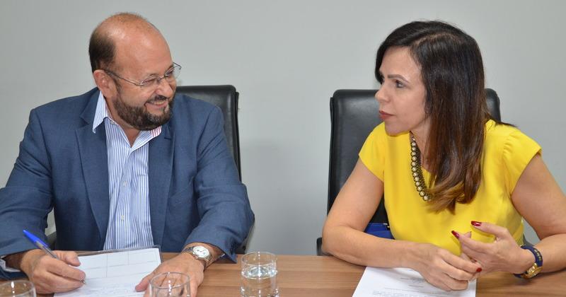 Reunião foi uma forma de alinhar destino das emendas parlamentares  propostas pela Deputada
