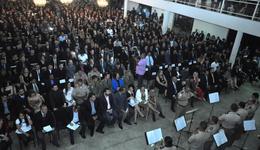 Aula Inaugural do curso de formação do Sistema Penitenciário foi iniciada em 15 de novembro com aula inaugural para 844 candidatos.