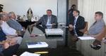 O assunto reuniu além do governador Marcelo Miranda, o presidente do TJ, Ronaldo Eurípedes; o procurador geral de Justiça, Clenan Renaut, além de juízes do TJ