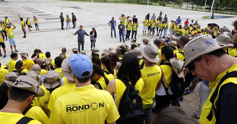 O superintendente de Juventude agradeceu a todos os rondonistas pelo  trabalho que será feito com as comunidades