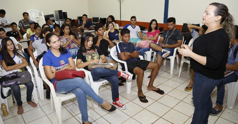 Na escola, alunos aprendem a cuidar melhor da saúde