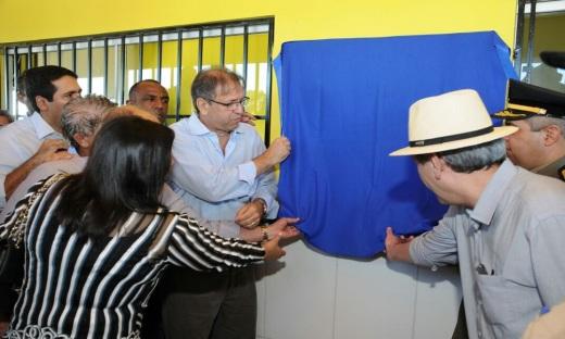 Em Araguaína, o governador Marcelo Miranda inaugurou a recuperação dos trechos rodoviários da TO-222 entre Araguaína e Aragominas e Aragominas ao Distrito de Novo Horizonte