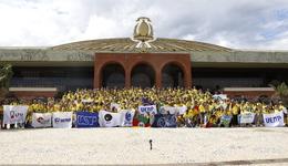 Rondonistas conheceram o Palácio Araguaia, nesta segunda, 20