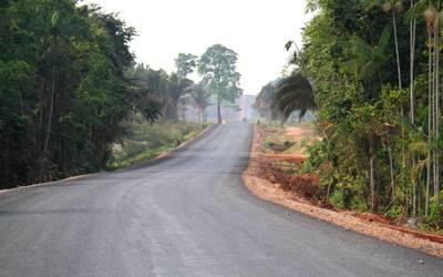 No trecho 33, 81 quilômetros foi investido R$ 35 milhões