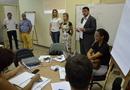 Secretário da Seden, Alexandre de Castro, acompanhou o início do workshop e destacou a importância do evento para o meio acadêmico do Estado
