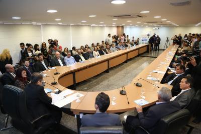 Lançamento da reestruturação do programa aconteceu nesta quarta-feira,  8, no Palácio Araguaia