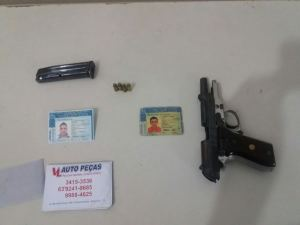 Mais uma arma apreendida pela PM em Araguaína._300.jpg