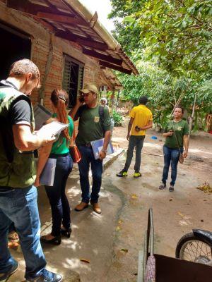 Fiscais ambientais do Naturatins realizam operação em criadores de passeriformes de Gurupi
