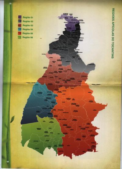 Mapa Apicultura