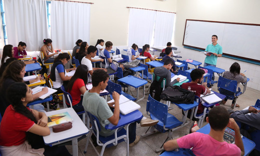 As aulas do projeto