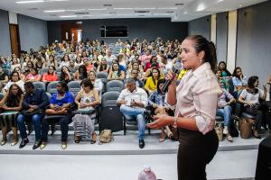 Secretária da Setas, Patrícia do Amaral, afirma que o Ceas é um espaço democrático.