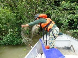 Supervisão do escritório regional do Naturatins apreende cerca de 1.500 metros de redes