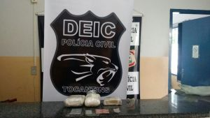 Polícia Civil apreende drogas no interior do Estado