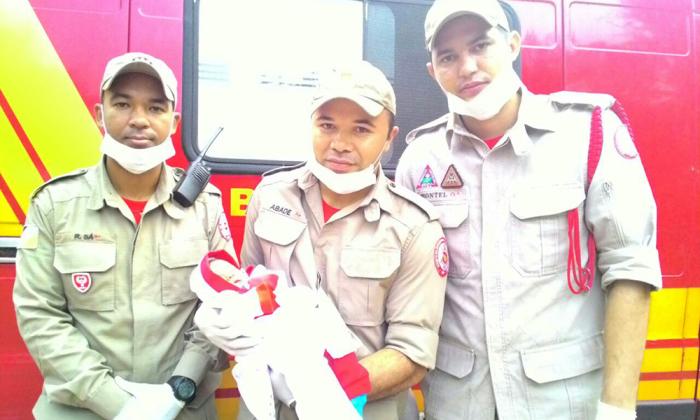 Após receber os primeiros socorros, o bebê foi deixado aos cuidados médicos no Hospital Regional de Colinas