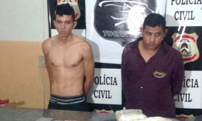 Suspeitos por tráfico de drogas são presos pela Polícia Civil em Gurupi