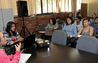 Reunião de planejamento para a realização da 8ª Semana da Água