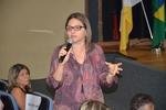 Luiza Regina explica novos gestores serão atualizados sobre a compatibilização dos instrumentos para de gestão e o planejamento do SUS