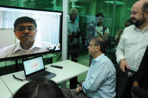 Integra Saúde vai possibilitar ainda a realização de webconferências com os 139 municípios
