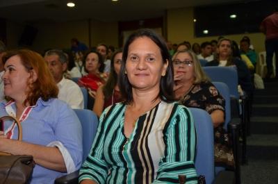 A prefeita de Aragominas agradeceu o investimento em seu município -Valdo França (767).JPG
