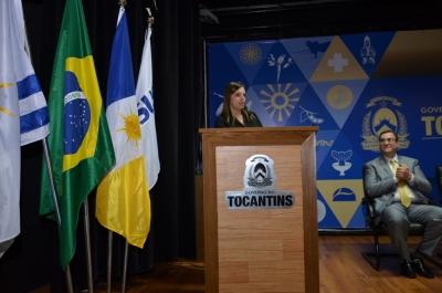 Vice-governadora Cláudia Lelis reafirmou a disposição do Governo do Estado em oferecer aos municípios todo suporte -Valdo França.JPG
