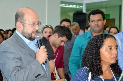 Musafir com gestores municipais em visita guiada