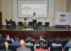 Representante do Ministério da Cultura fez a palestra de abertura do evento