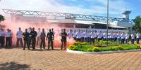 Alunos do curso de formacao do sistema prisional durante estagio na CPPP - Miller Freitas (1).JPG