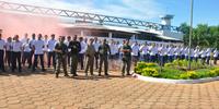 Alunos do curso de formacao do sistema prisional durante estagio na CPPP - Miller Freitas (2).JPG