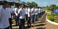 Alunos do curso de formacao do sistema prisional durante estagio na CPPP - Miller Freitas (3).JPG