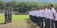 Alunos do curso de formacao do sistema prisional durante estagio na CPPP - Miller Freitas (8).JPG